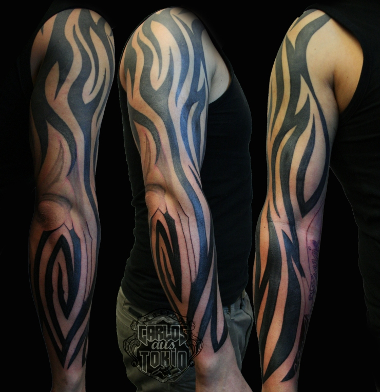 tribal arm tattoo3