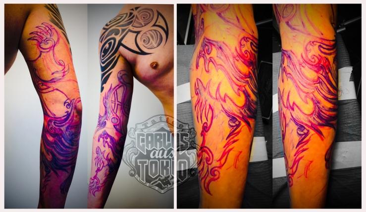 tribal taurus tattoo1