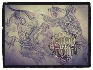 tribal taurus tattoo2