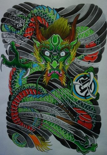 japanese dragon tattoo4