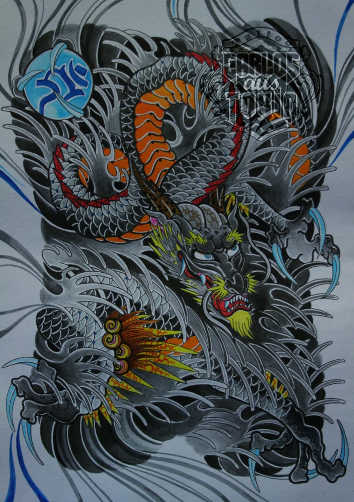 japanese dragon tattoo5