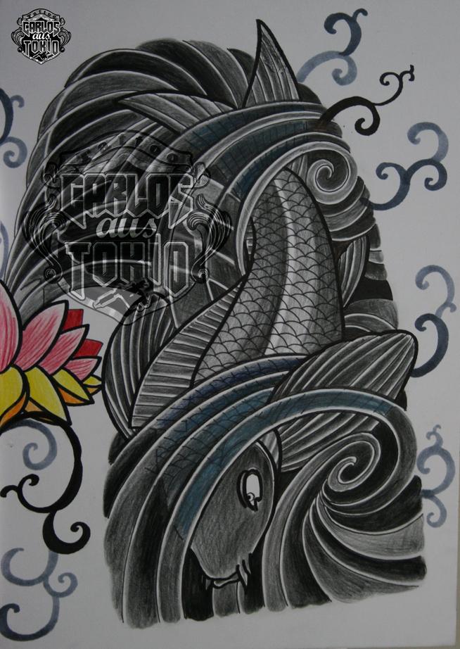 japanische koi tattoo21