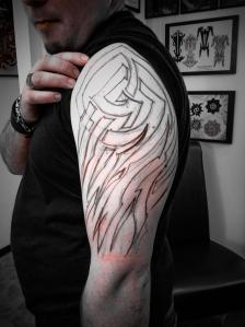 free hand tribal tattoo deutschland