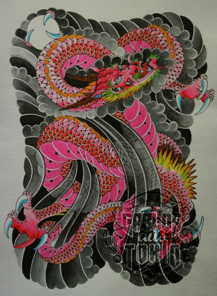 japanese dragon tattoo6