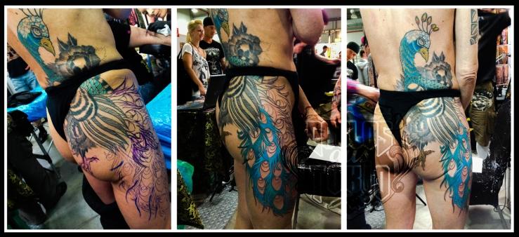 peacock tattoo deutschland