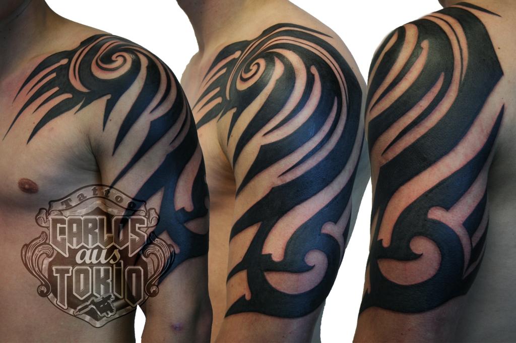 tribal tattoo deutschland carlos aus tokio