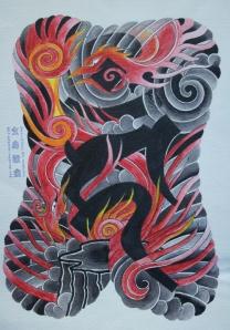 japanese buddhist tattoo 5