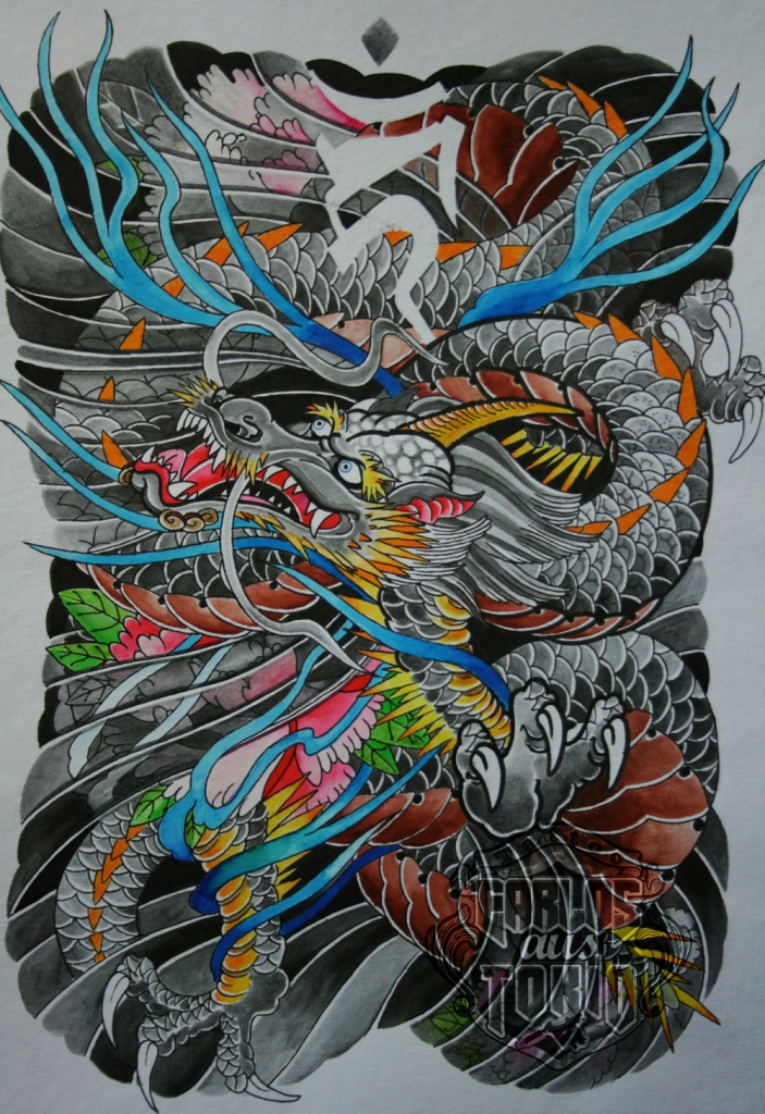 japanese dragon tattoo7