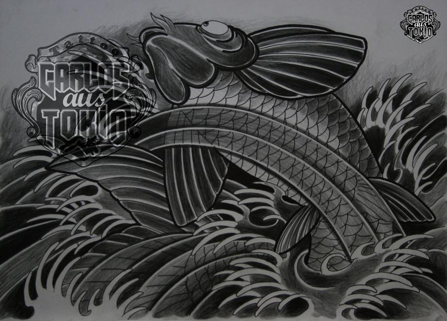 japanische koi tattoo10