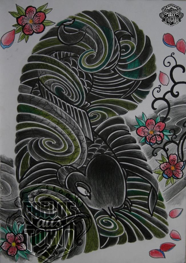 japanische koi tattoo22