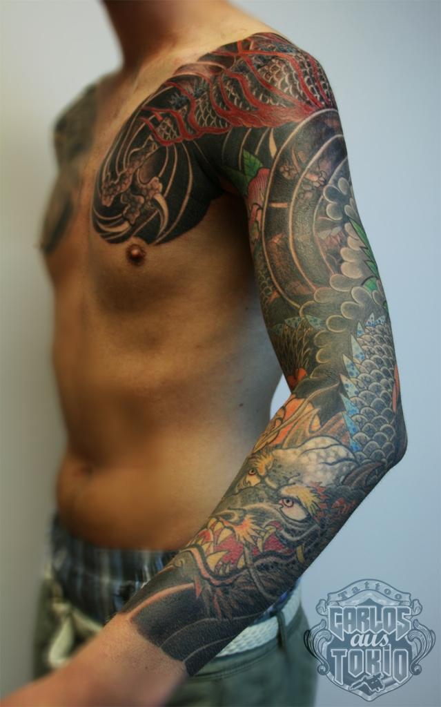 drache tattoo carlos aus tokio1