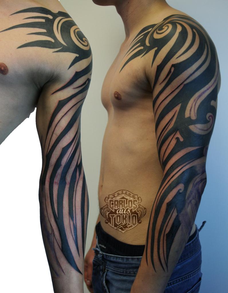 tribal tattoo deutschland carlos aus tokio2