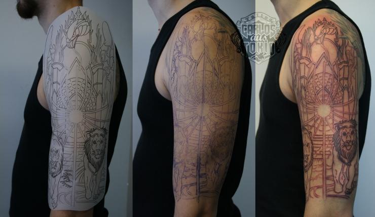 sabaton heroes tattoo carlos aus tokio