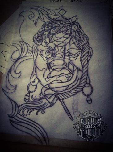 fudo-myo tattoo carlos aus tokio1