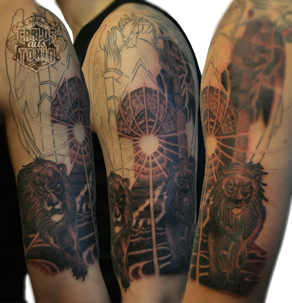 sabaton heroes cd tattoo carlos aus tokio