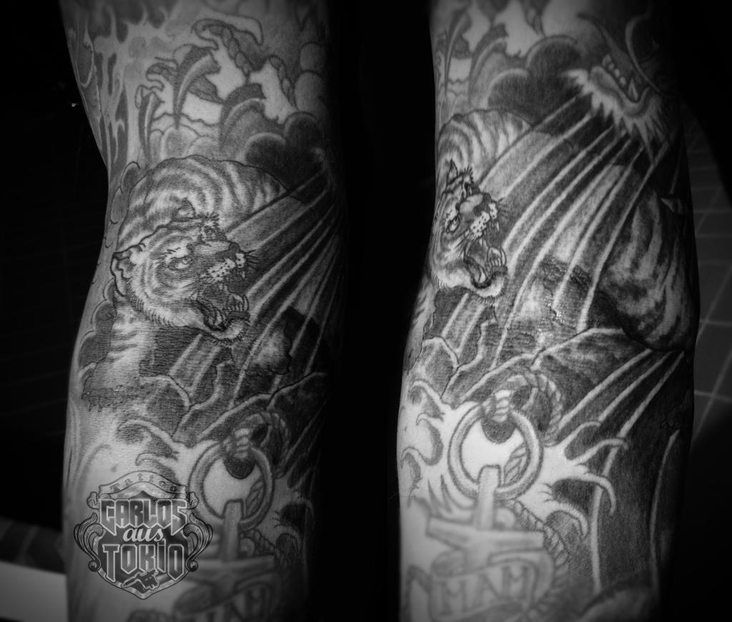 tiger tattoo carlos aus tokio krefeld tattoo convention