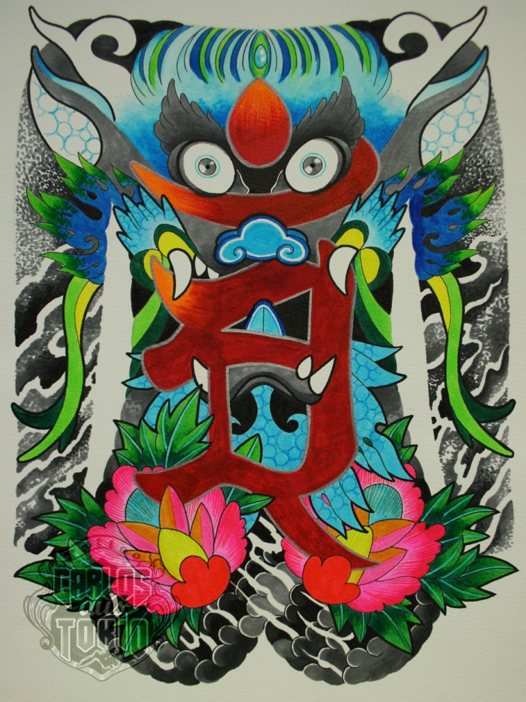 Japanese buddhist tattoo21