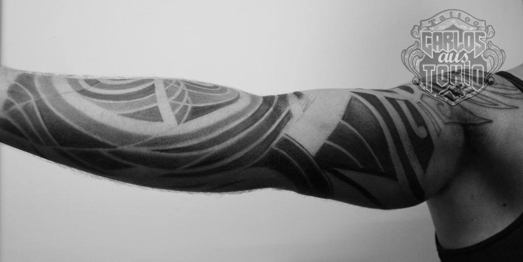 maori mask tattoo carlos aus tokio2