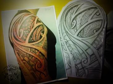 polynesian tattoo carlos aus tokio2