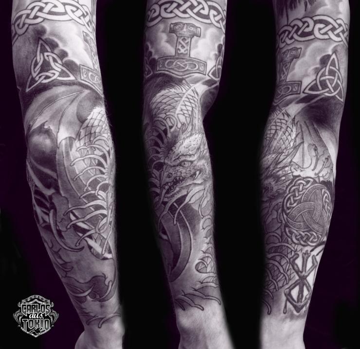 drache tattoo cologne carlos
