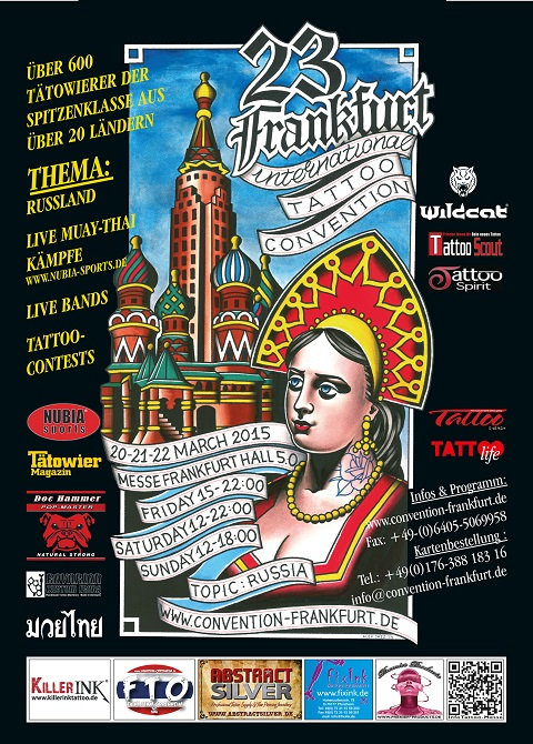 Frankfurt tattoo convention 2015