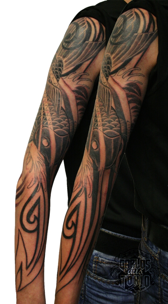 koi carp tattoo1