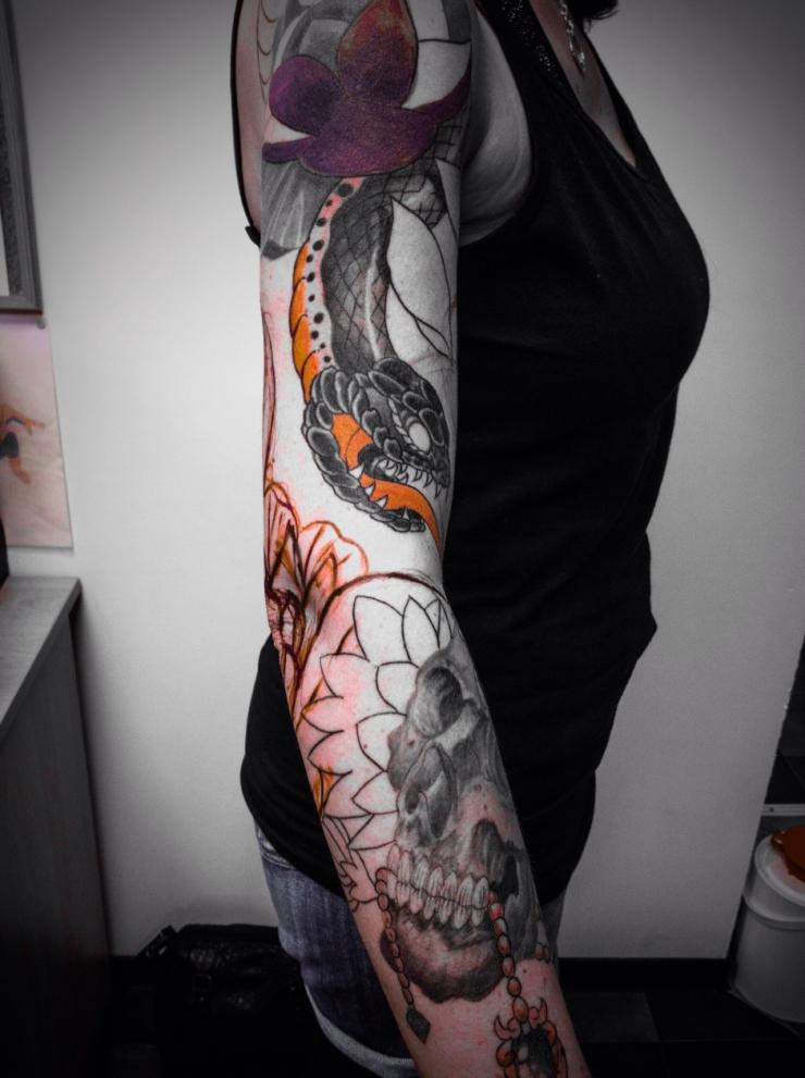 tattooed women frau2