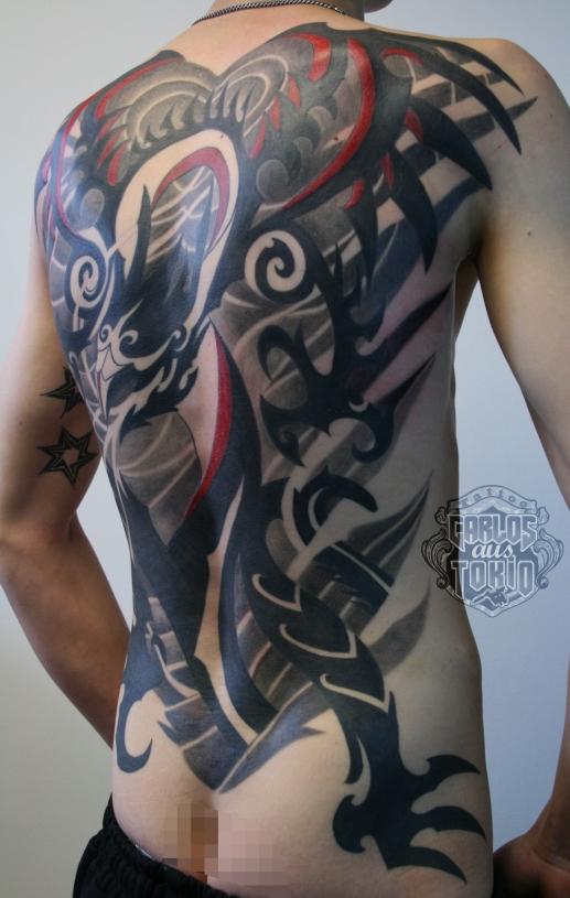 tribal dragon back piece2
