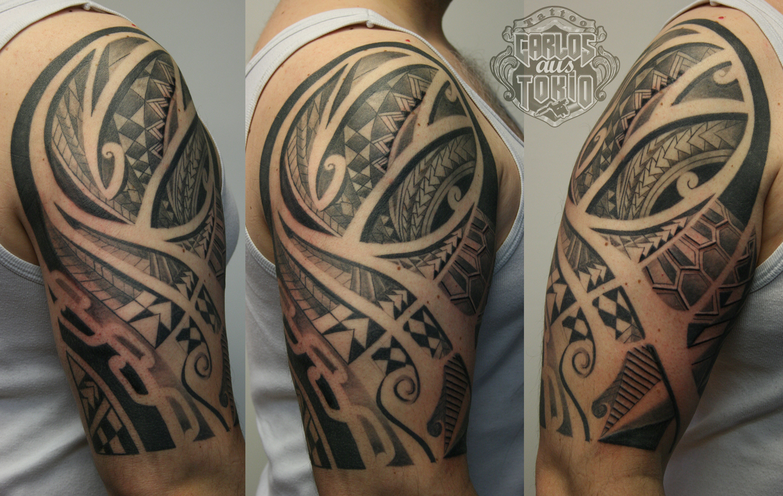Peter s 1 2 sleeve tattoo abgeheilt healed carlos for 1 2 sleeve tattoo