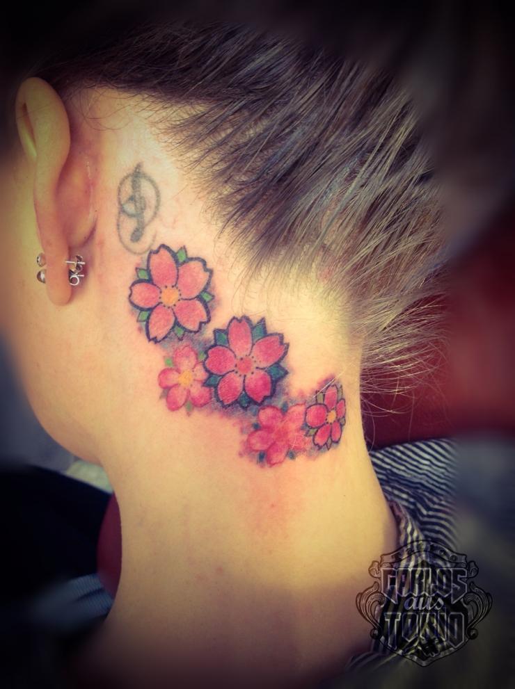 cherryblossom tattoo women