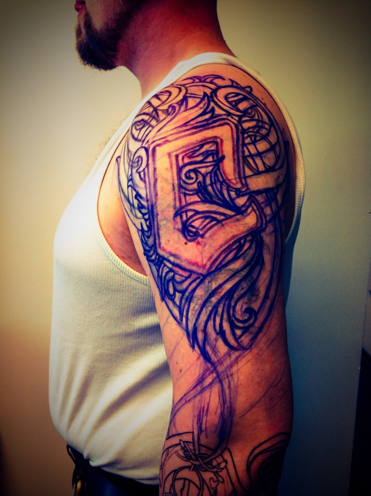 wikinger tattoo viking1