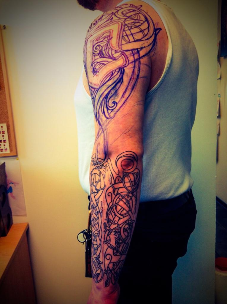 wikinger tattoo viking4
