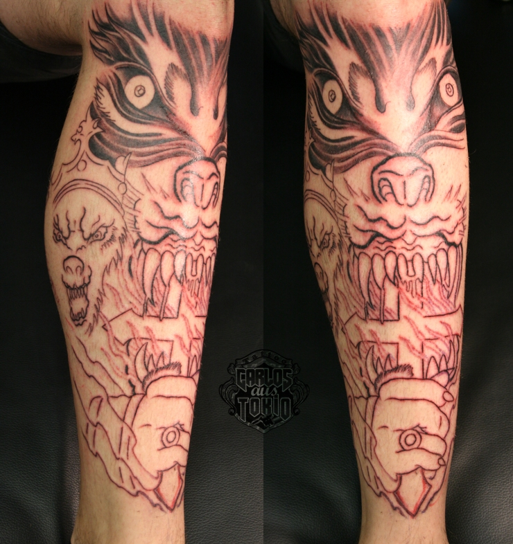 band powerwolf tattoo1