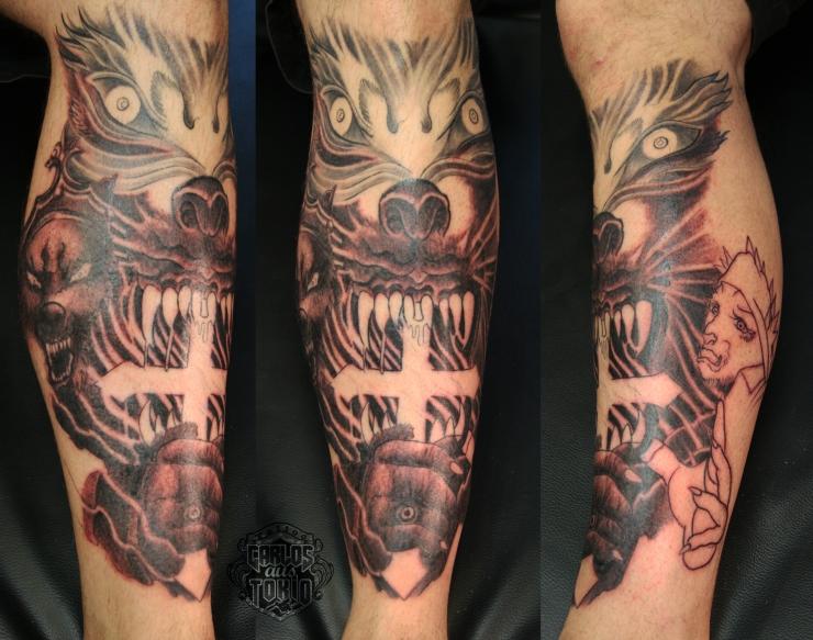 powerwolf tattoo