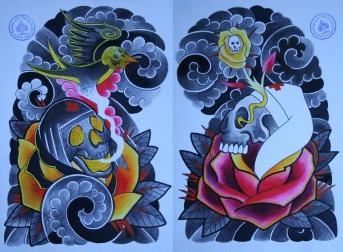 totenkopf tattoo carlos aus tokio18