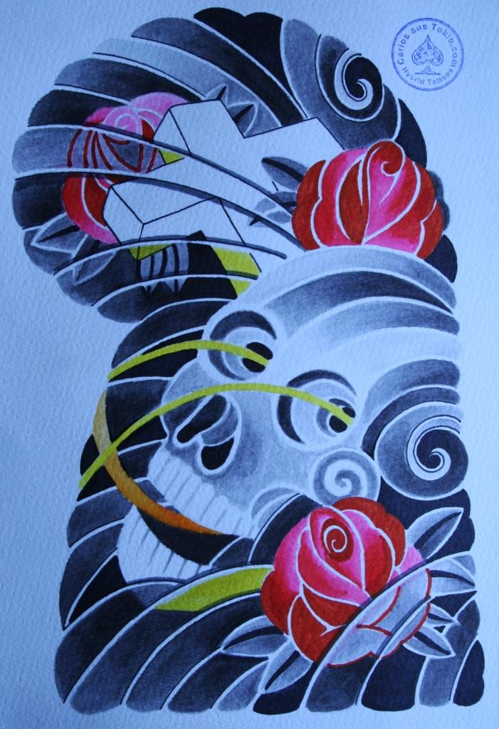 totenkopf tattoo carlos aus tokio2