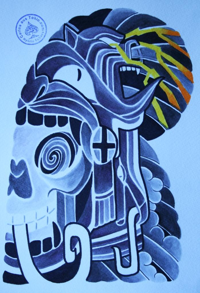 totenkopf tattoo carlos aus tokio22