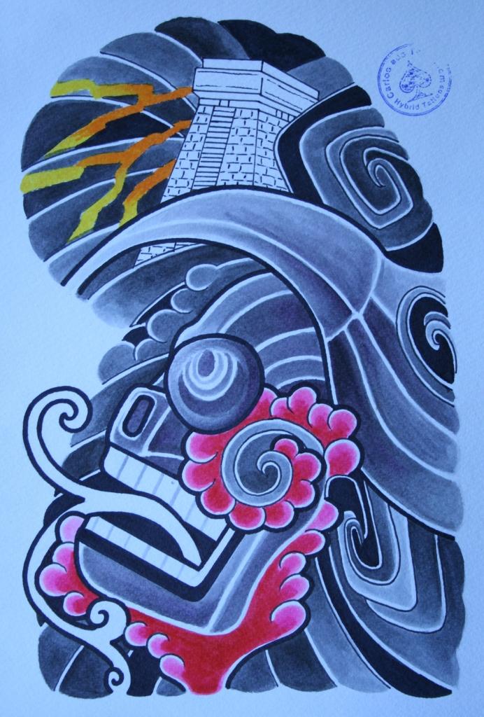 totenkopf tattoo carlos aus tokio23