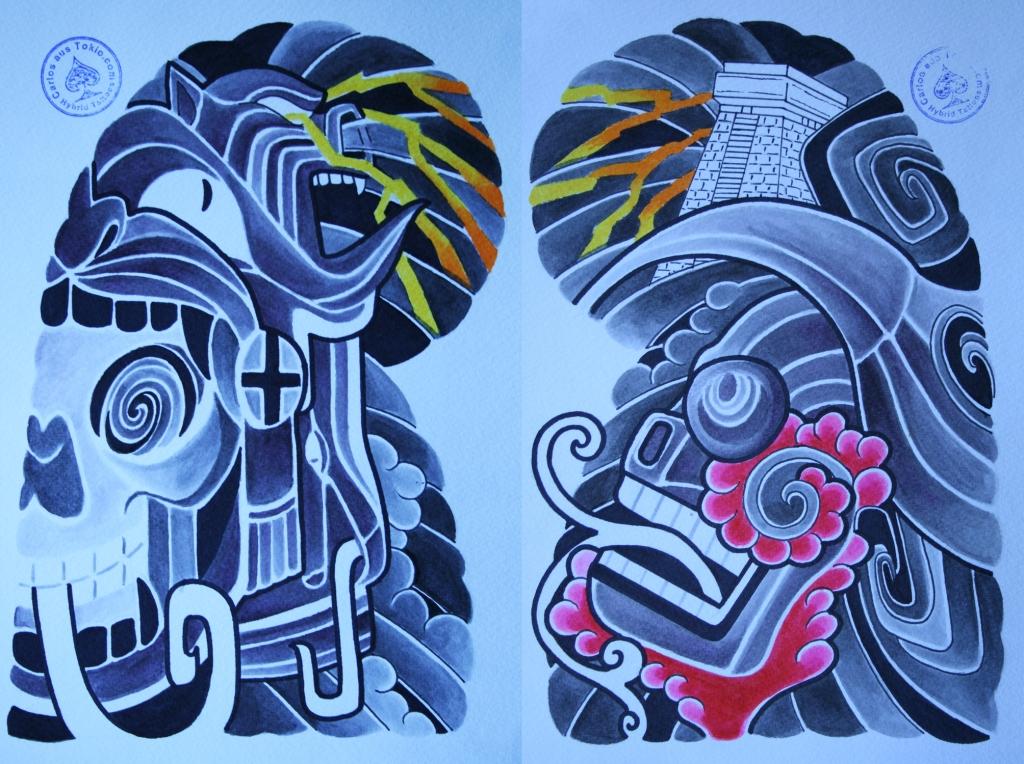 totenkopf tattoo carlos aus tokio24