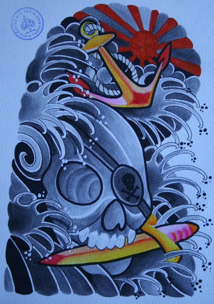 totenkopf tattoo carlos aus tokio28