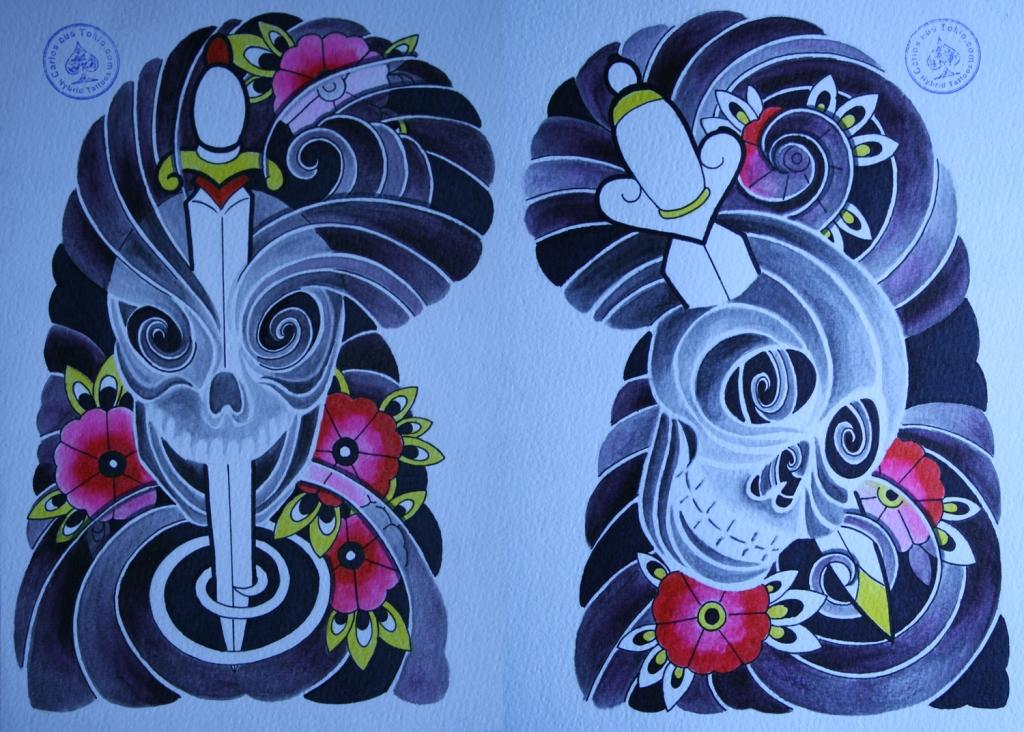 totenkopf tattoo carlos aus tokio6