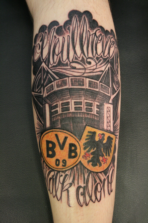 bvb dortmund 香川 – Carlos 彫独逸 Tattoo