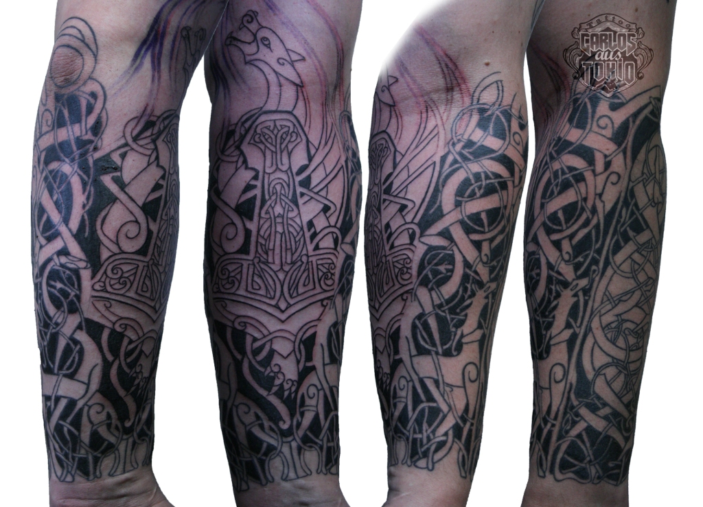 viking tattoo tribal