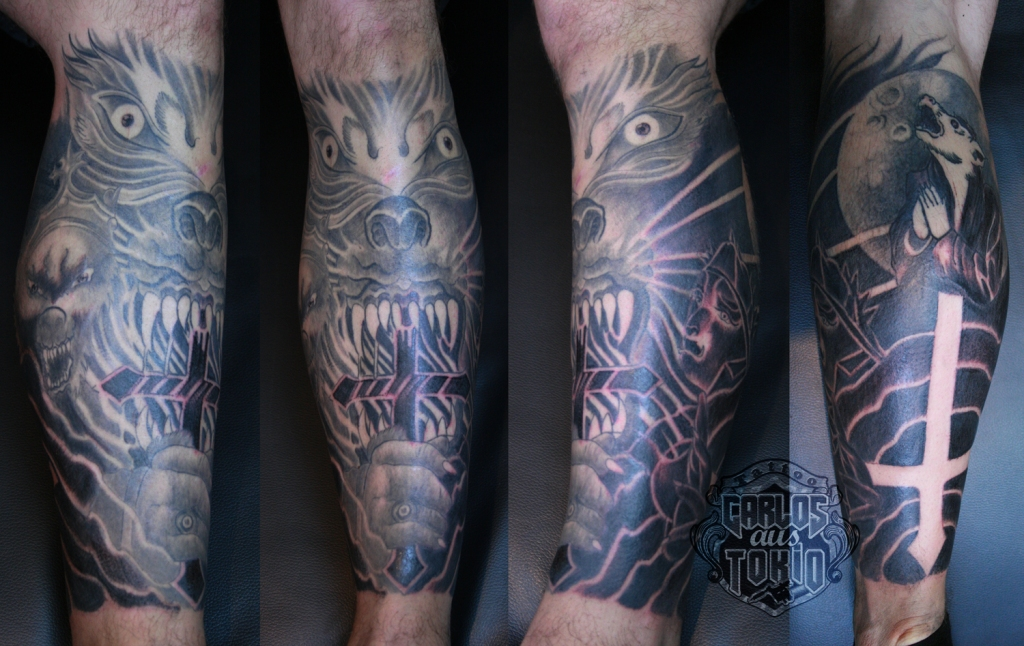 powerwolf band tattoo