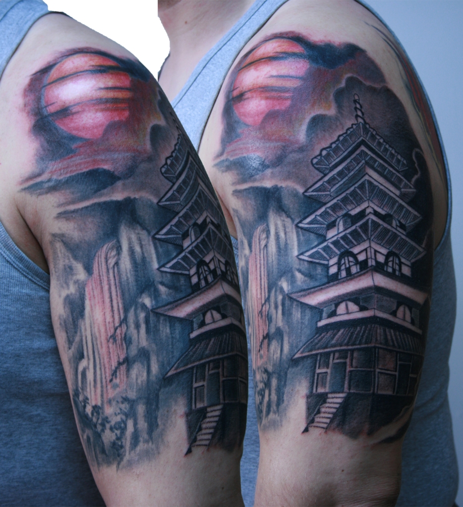pagoda tattoo