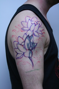 lotus cover up tattoo1