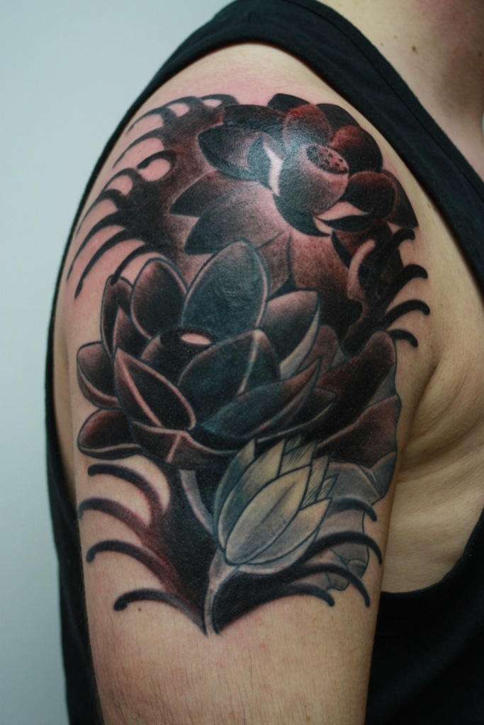 lotus cover up tattoo4