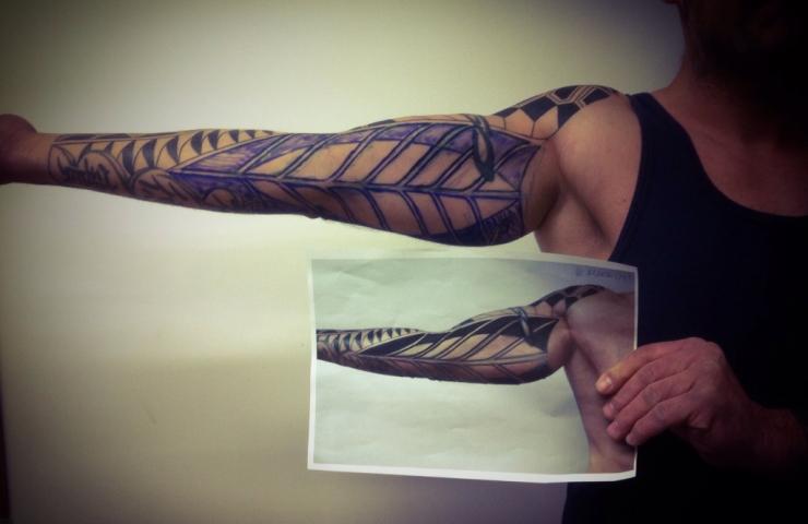 tribal tattoo carlos aus tokioa0