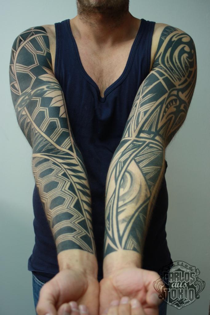black work tattoo carlos aus tokio6