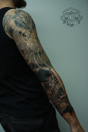 blind guardian drache tattoo1a